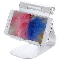 ingrosso staffe per ipad-Supporto per tablet desktop portatile in lega di alluminio con supporto per iPad Smart Phone