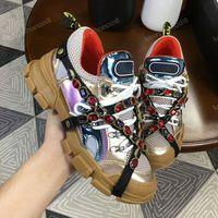 kettenschnürsenkel großhandel-Neue Designer Schuhe Abnehmbarer Kristall Männer Freizeitschuhe Frauen Sneaker Mode Mischfarben Strass Kette Lace Up Low Cut Sneaker