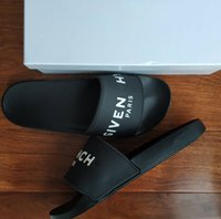Wholesale strap loafer casual shoes for sale - Group buy Slippers Sandals Slides Best Quality Sandals Designer Shoes Slippers Huaraches Flip Flops Loafers For Man Woman Size With box