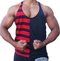 474ca4af43fa1a Wholesale flag singlet for sale - USA National flag LOGO Cotton Men Gym  tank top Sleeveless