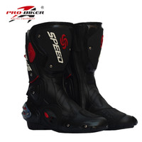 New men's safety Motorcycle footwear racing off-road boots riding footwear outdoor sport boots cycling footwear windproof 3 colors