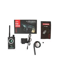 mini kablosuz tarayıcı toptan satış-Taşınabilir 1 MHz-6.5 GHz K18 Kablosuz Metre Sayacı Anti Mini Kamera Tarayıcı Kişisel Ev Güvenlik Uygulamaları için RF Sinyal Dedektörü bulucu