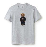 temel siyah gömlekler toptan satış-Sada Pamuk Casual Kısa kollu Beyaz Siyah Gri Şık Casual Havuz Erkek Giyim Yaz Temel Tişörtlü Tee Run Küçük M120 Tops