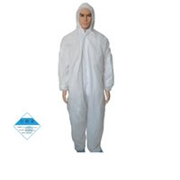 Wholesale oil resistant resale online - One Time Disposable Waterproof Oil Resistant Protective Coverall for Spary Painting Decorating Clothes Overall Suit L XL XXL XXXL Size