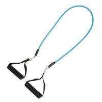 banda para exercícios de fitness venda por atacado-11 pçs / set perda de peso equipamentos de fitness do corpo de resistência de látex bandas exercício pilates yoga tubos de fitness puxar corda novo