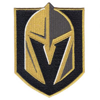 kleidung logopatches großhandel-Las Vegas Golden Knights Primary NHL-Team Logo bestickt Hockey Jersey Patch Stickerei Patches für Kleidung