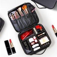 maquiagem cosméticos sacos grande venda por atacado-2019 Saco de Higiene Pessoal Saco de Cosmética Organizador Mulheres Viagens Maquiagem Casos Grandes Capacidade de Cosméticos Malas Para Maquiagem X32 J190614