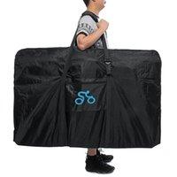 naylon taşıma çantası toptan satış-1680D Naylon Taşınabilir Bisiklet 26-29 Inç Bisiklet Bisiklet Taşıma Çantası için Taşıma Çantası Seyahat Bycicle Aksesuarları Açık Spor # 79539