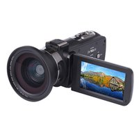 Wholesale mega full video for sale - Group buy 4K Camcorder X Video camera Full HD touch Screen Mega Pixels IR Infrare