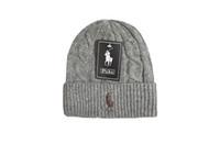 homens chapéus de inverno bonés venda por atacado-Homens Mulheres Baggy Quente Crochet Malha de Lã de Inverno Gorro Crânio Slouchy Caps Chapéu Para Meninas Gorras Mujer