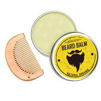 Wholesale hair bags for tools for sale - Group buy Moustache Cream Beard Oil Kit with Moustache Bread Comb Brush Storage Bag Hair Combs Storage Bag Hair Brushes for Male Cleaning Tools
