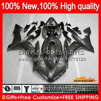 Wholesale yamaha r1 white green resale online - Body For YAMAHA YZF R CC silvery grey YZF YZFR1 HC YZF1000 CC YZF R1 YZF R1 Fairings kit