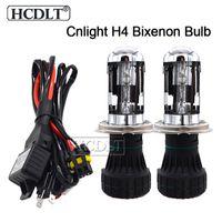 Wholesale car h4 replacement headlight bulb resale online - HCDLT W Bixenon H4 Cnlight High Low Beam HID Replacement Bulb Lamp H4 K K K For Car Headlight Xenon H4 HID Kit