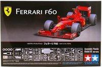 renn-plastik-sets großhandel-Tamiya Racing Modell 1: 20 Formel F1 Racing F60 Plastikbausatz Spielzeug Sammlung Geschenk Freies Verschiffen