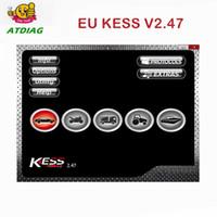 Wholesale ktag ecu programmer resale online - Master Online V2 EU KESS V5 KESS V2 No Token KTAG V7 OBD2 Manager Tuning Kit K TAG V2 ECU Programmer