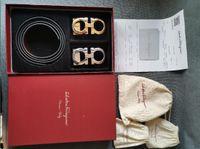 trajes lisos al por mayor-Trajes asequibles Cinturones con la caja de los hombres y mujeres de las correas de la hebilla Smooth pantalones con Complementos Cinturones duraderos regalos