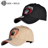 Wholesale tactical table resale online - HAN WILD Snapback Cap Hunting Cotton Baseball Cap Hiking Caps Outdoor Hat Trucker Drop Shipping Tactical Cap Ajustable
