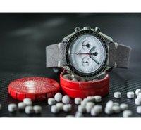correa de reloj roja al por mayor-Correa de correa de cuero hecha a mano de gamuza gris confort 18 mm / 20 mm / 22 mm hebilla de acero inoxidable de alta calidad rojo azul línea 2018 nuevo