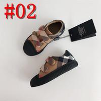 marcas para crianças venda por atacado-Marca de lona crianças com os pés descalços sapatos de Costura Tecido crianças sapatos para meninos meninas escola sapatos suficiente dedo do pé superior para as crianças