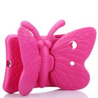ingrosso sacchetto di caso di disegno-Per il caso del ipad di lusso in EVA che modella il disegno farfalla per ipad mini Serie 1 2 3 4 con la confezione del opp