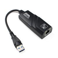 Wholesale tablets rj45 resale online - New Mbps USB Gigabit Ethernet Adapter USB to rj45 Lan Network Card for Windows XP Mac OS laptop PC Tablet