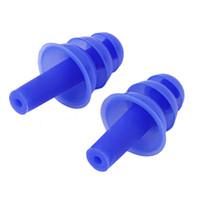 ohrstöpsel lärm silikon großhandel-2 teile / paar Silikon Ohrstöpsel Anti Noise Snore Ohrstöpsel Schalldämmung Schallschutz Gehörschutz Ohrstöpsel