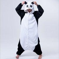 костюмы мужские оптовых-New Adult Animal Pajamas Rilakkuma Panda Pajamas Sleepsuit Onesie Sleepwear Unisex Cosplay Halloween Costumes for Men