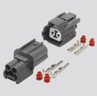 Wholesale waterproof electrical plugs for sale - Group buy set Pin Black Waterproof Electrical Speaker Plug DJ7028 Male and Female Automobile Connector with Terminal