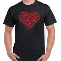 Wholesale red hair love online - I Heart Red Heads Mens Funny T Shirt Valentine s Day Ginger Love Hair Top Gift