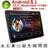Wholesale 10 in Car Android Bluetooth Stereo Radio DIN Player GPS Wifi Universal P