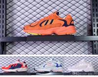 x z venda por atacado-Kanye West Limitada Dragon Balls Z x Yung-1 GoKu Sneaker das Mulheres dos homens Amante de Execução Sapatos de Desporto