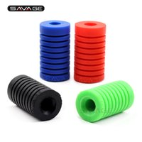 Wholesale silica gel toes for sale - Group buy Universal Foot Operated Left Shift Lever Foot Pad Pedal Toe Peg Cover Motorcycle Accessories Silica Gel Black Blue Red Green