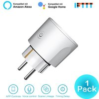 telefones câmera uk venda por atacado-New Smart WiFi UE US UK plug Switch Inteligente 16A sincronismo APP Controle de voz de suporte Alexa Página inicial do Google para Android Phone