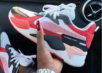 zapatos casuales de marca al por mayor-Transformers x Puma RS-X 2019 La nueva combinación de colores Desiner Sneakerx Transformers RS-X Runner zapatos retro de coco para correr marca de marea para hombre calzado deportivo casual