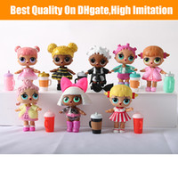 Wholesale free pvc clothes resale online - Doll CM Ball Doll Toys DIY Wear clothes Bottle Girl Doll Baby Change with Glasses Action Figure Toys Kids Gift