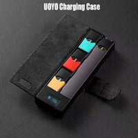 Wholesale UOYO Charging Case for COCO Portable Charger LCD Charging Indicator mAh battery box Vapor Pods Cartridge Vape Pen Charging Case