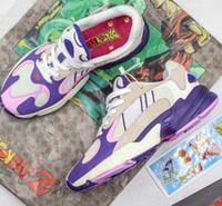 x z venda por atacado-Nova Atualização Dragon Ball Z x Yung-1 Frieza Run Sapato Clássico Designer de Moda Edição Limitada Yung 1 de Qualidade Superior Sapatas Do Esporte