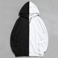 Rabatt Weißer Abgeschnittener Hoodie | 2019 Weißer