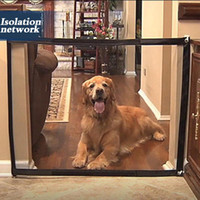 Wholesale safety gate resale online - Dropshipping Dog Gate The Ingenious Mesh Magic Pet Gate For Dogs Safe Guard and Install Pet Dog Safety Enclosure Fences