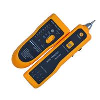 probador de herramientas de red al por mayor-Cable de red LAN Probador Cat5 Cat6 RJ45 UTP STP Buscador de línea Teléfono Rastreador de cable Rastreador Diagnóstico de tono Kit