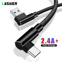 Wholesale right angle usb cables for sale – best 1 Meter USB Type C cable Degree Right Angle Mobile Phone Charging Cables For Huawei P20 Mate Fast Charge USB C Cord