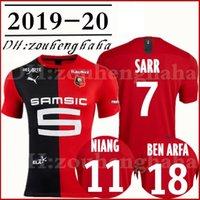 бен-трикотажные изделия оптовых-2019 2020 Stade Rennais SARR Home maillots de foot 19 20 Ренн ГРЕНЬЕР футбол футболка SIEBATCHEU NIANG BEN ARFA ANDRE HUNOU футболка