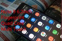 ingrosso grande schermo telefono qwerty-Grande sconto! Goophone Note9 N9 6.2inch MTK6580 telefono cellulare sbloccato quad core android dual sim 1G Ram 8G Rom telefono 3G SmartPhone