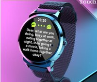 Wholesale gps sms tracker waterproof resale online - 1 Inch IPS Screen Smart Watch For Android IOS Phone SMS Push Heart Rate Blood Pressure Smartwatch men