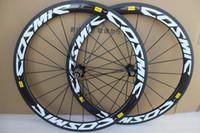 Wholesale wheels rear bike resale online - Mavic cosmic C mm depth road bike carbon wheels mm width clincher carbon wheelset with A271 hub K glossy finish
