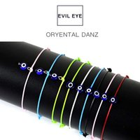 Wholesale evil eye jewelry for men for sale - Group buy Fashion Thin Black Red Thread Evil Eye Bracelet String Rope Braided Bangles For Women Men Adjustable Length Good Lucky Jewelry