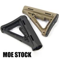 ingrosso stock compatto-MOE STOCK Tactical Compact Buttstock AEG GBB Per carabine M4 / M16 Utilizzo della versione PTS nella scatola BK / DE / FG