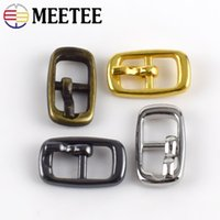 Wholesale 6mm buckles resale online - Meetee Mini Buckles ID mm Pocket Ultra small Pin Buckle Doll Costume Shoes Hardware Pin Adjustment Buckle Accessories BF293