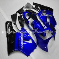 ingrosso zingere 12x-Botls + Gifts Carena moto blu stampi ad iniezione per Kawasaki zx-12r 00-01 ZX 12R 2001 2000 pannelli moto