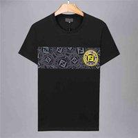 hombres camisa de algodón italiana al por mayor-Camiseta de la marca Alianza Marca diseñador italiano Camisa de polo Cartas Camiseta de lujo Camisa polo de algodón casual para hombres Tamaño M-3XL